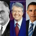Roosevelt / Carter / Obama
