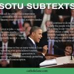 SOTU SUBTEXTS
