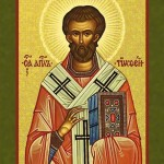 St. Timothy, Bishop, Martyr