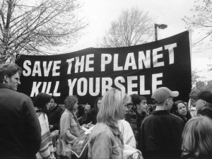 Save the Planet / Kill Yourself - Earth Hour