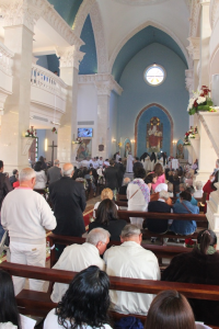 ACN photo: the consecration of Our Lady of Peace