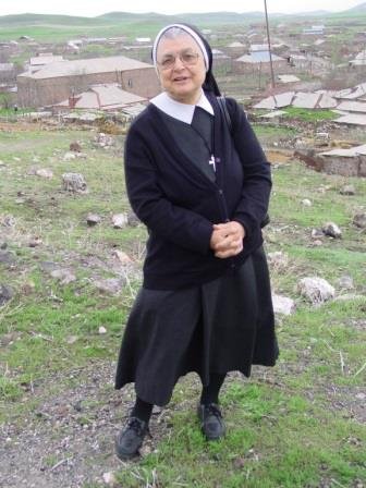 Sister Arougia; ACN photo