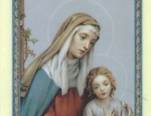 A Gift for My Grandmother and Saint Anne's Gift to Me