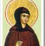 St Bertha, Widow, Abbess.