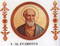 St, Evaristus_of_Rome_97-105