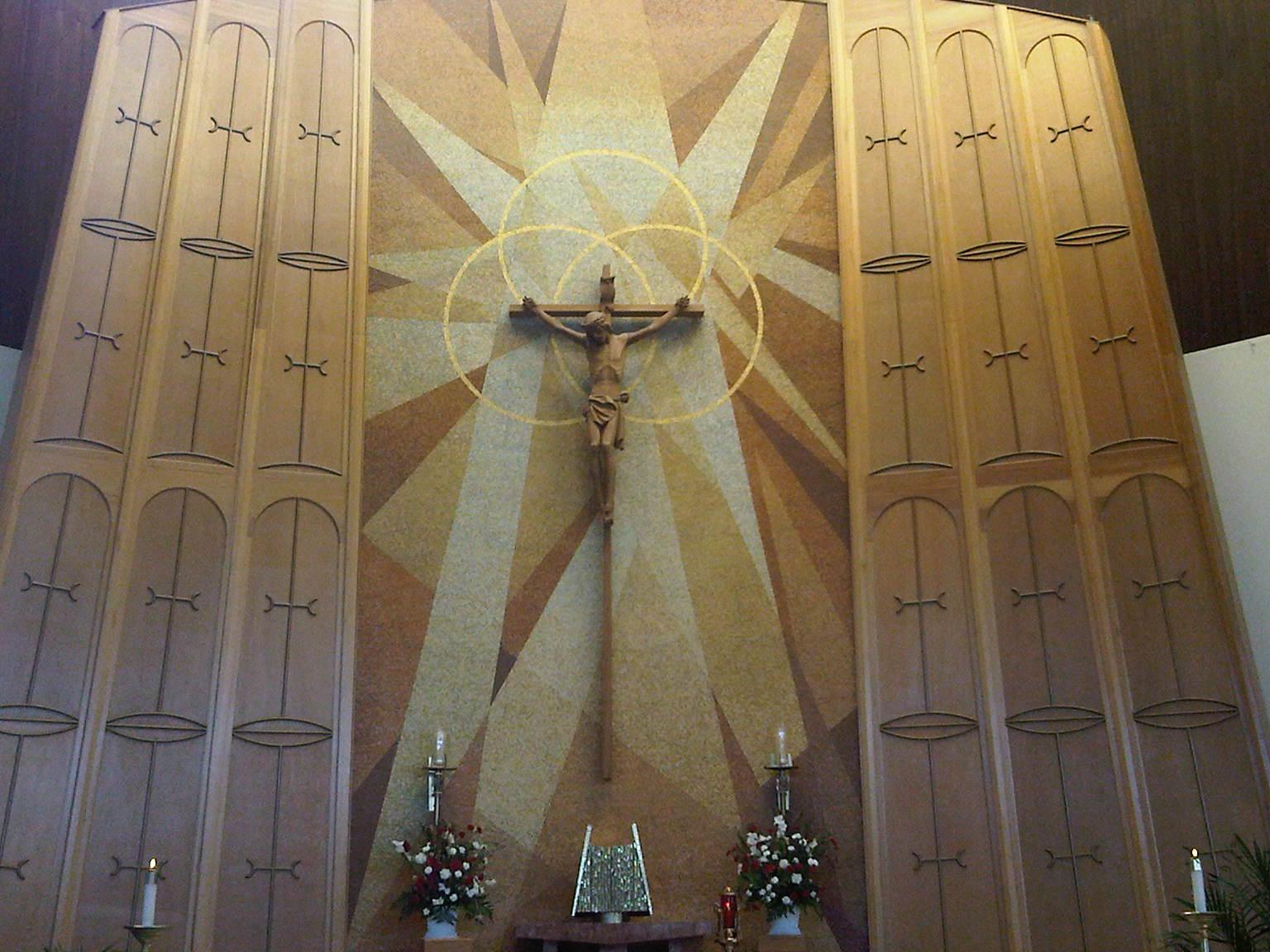church crucifix | Catholic Lane