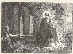 St. Hospitius, recluse
