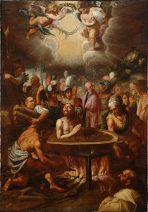 St. John in boiling oil