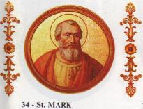 St. Mark, pope