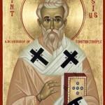 the Memorial of St. Tarasius