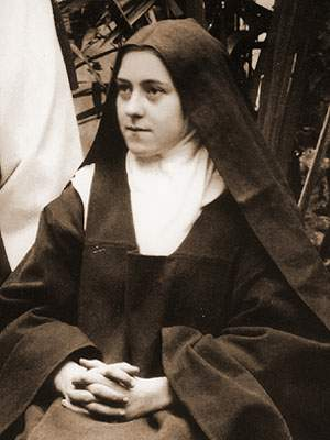 St therese of lisieux roses