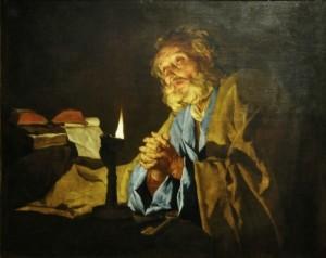 """Stomer St. Peter"" by Matthias Stom (fl. 1615–1649)"