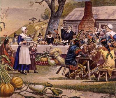 An image from colonial America