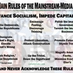 The Main Rules of the Mainstream-Media Herd