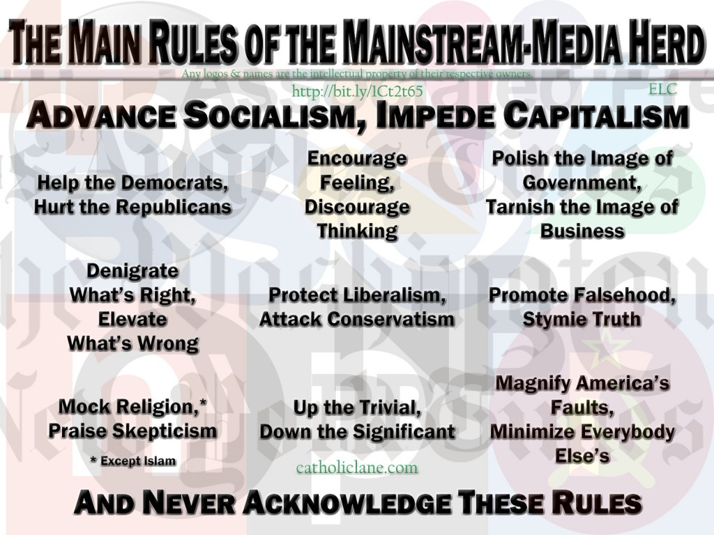 The Main Rules of the Mainstream-Media Herd bit.ly