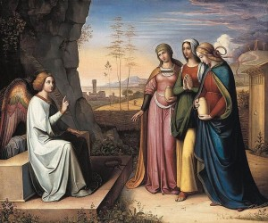 The Three Mary's at the Tomb