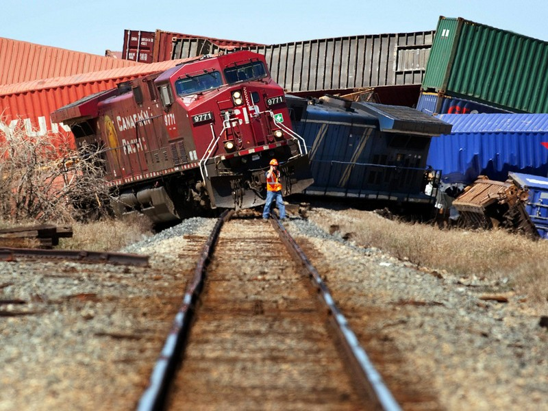 The Trainwreck: A Real Train Wreck