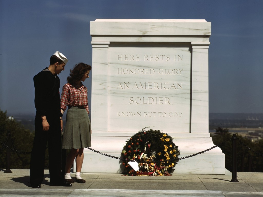 Tomb of the Unknowns, Arlington Cemetery, May 1943