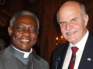Cardinal Peter Turkson & Dr. Alejandro Chafuen