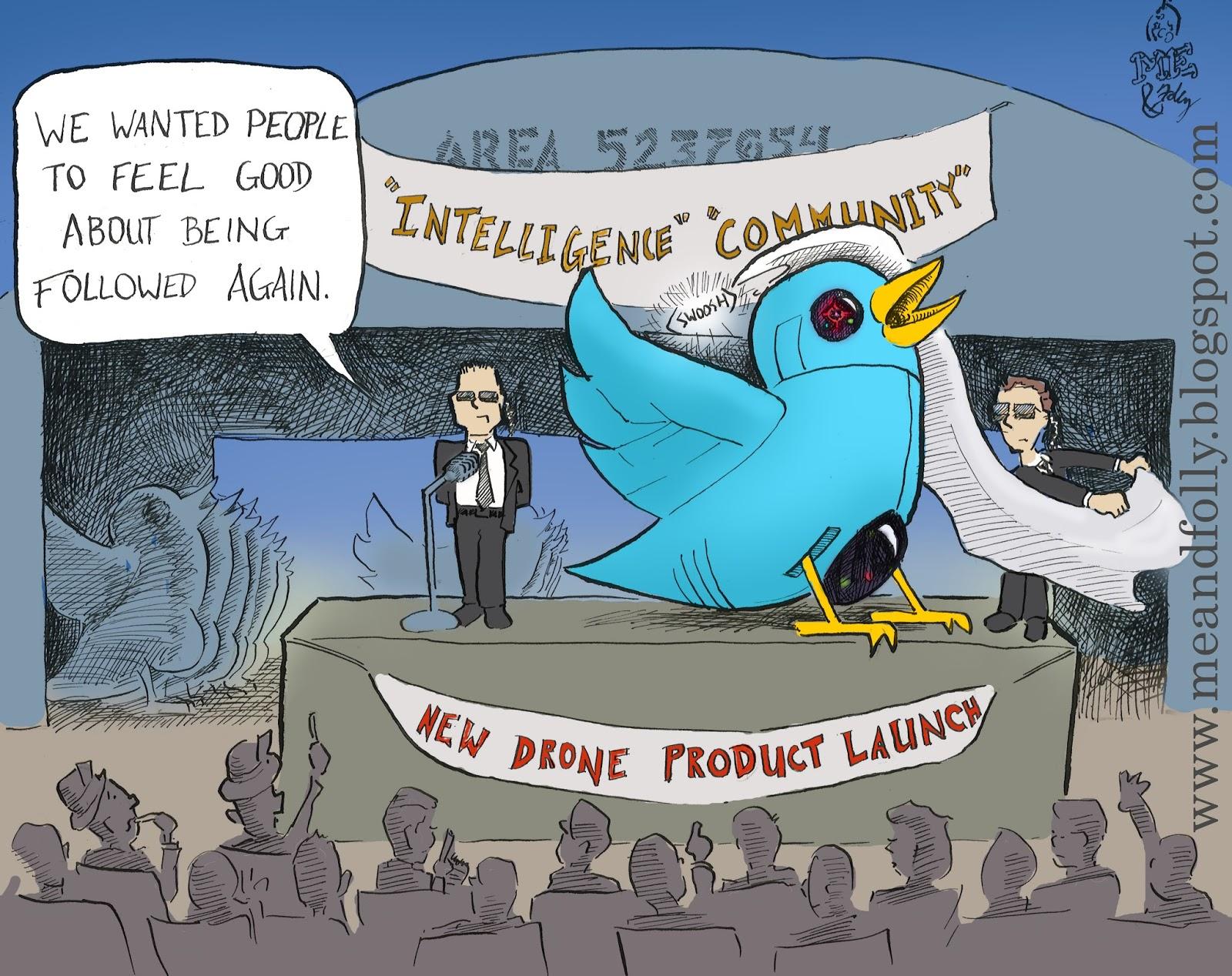 TwitDrone