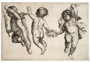 Two_cherubs_dancing_with_a_small_boy