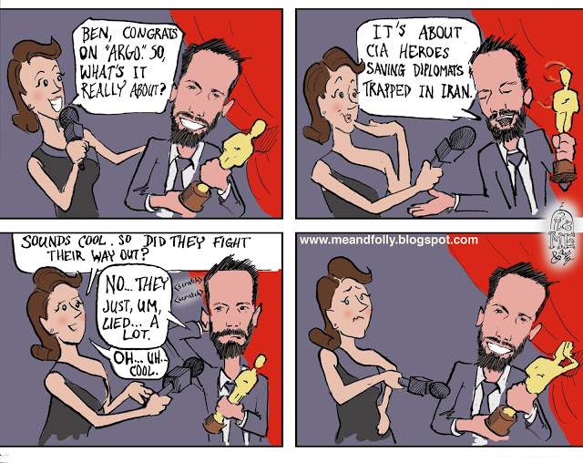 ben affleck cartoon