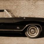 car old vintage sepia