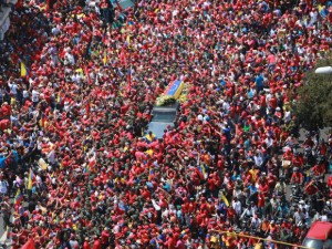 Funeral Cortege - Hugo Chavez - March 6, 2013