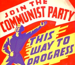 Communist Party Poster Catholic Lane