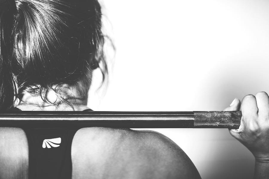 sports, training, female athlete, woman, weight lifting