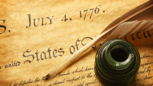 Lines from the Declaration of Independence to Ponder this July