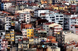 dense population city