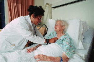 Doctor Examining an Elderly Patient