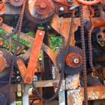 gears machinery rusty