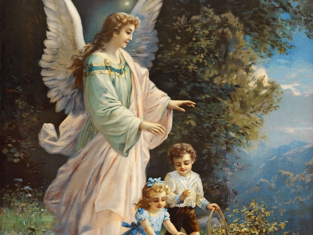 teaching children about the angels catholic lane