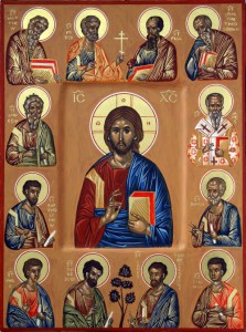 Icon - Jesus Christ - Holy Apostles