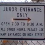 Jury Duty Matters
