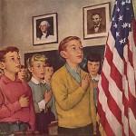 Using Bullying to Club Patriotic Pledge