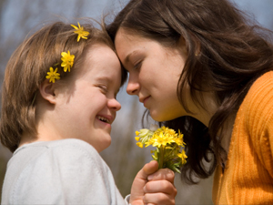 love down-syndrome flowers sweet child
