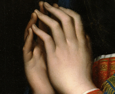 The Hands of Mary