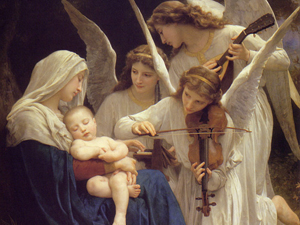 music angles Mary_and_Jesus lullaby angelic baby_Jesus