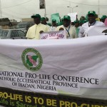 Nigerian Bishops March, Sing and Train at Pro-Life Conference
