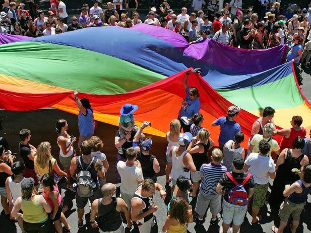 Rainbow Flag March
