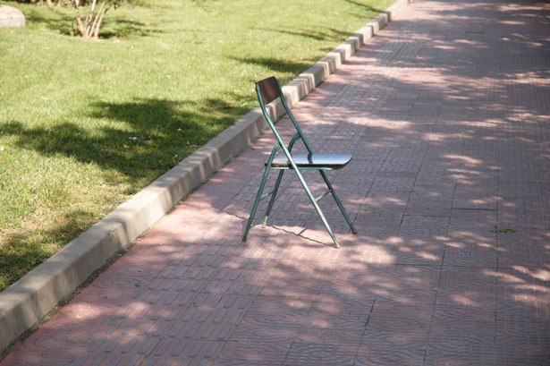 sidewalk chair