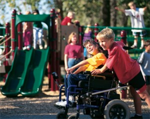 wheelchair-playground