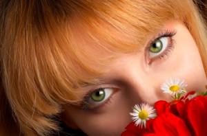 woman-flower