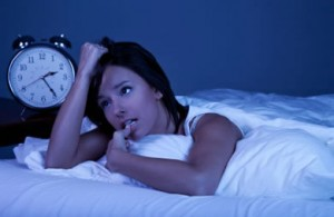 woman stress worry sleep problems insomnia
