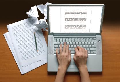 writing on laptop catholic lane